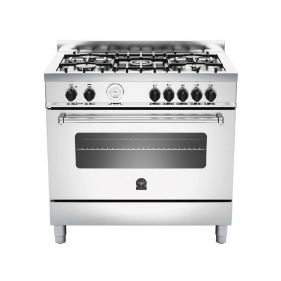 La Germania AMERICANA Stainless Steel Dual Fuel Gas/Electric Stove