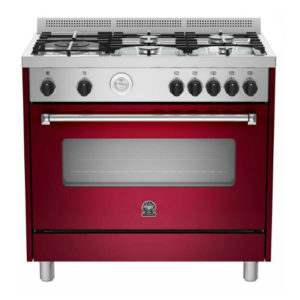 La Germania AMERICANA Burgundy Gas / Gas Stove