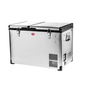 SnoMaster 56lt Double Door Dual compartment  Fridge Freezer 26/30Ltr