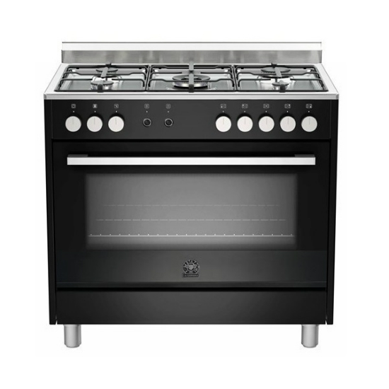 La Germania EUROPA 90cm Black Gas / Gas Stove
