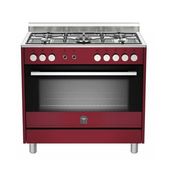 La Germania EUROPA 90cm Burgundy Gas / Gas Stove