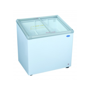 Fridge Star Cf310Vi 193Lt Slanted Glass Top Ice-Cream Freezer
