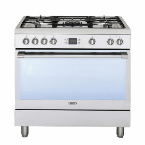 Defy 90cm Silver Gas/Electric Stove
