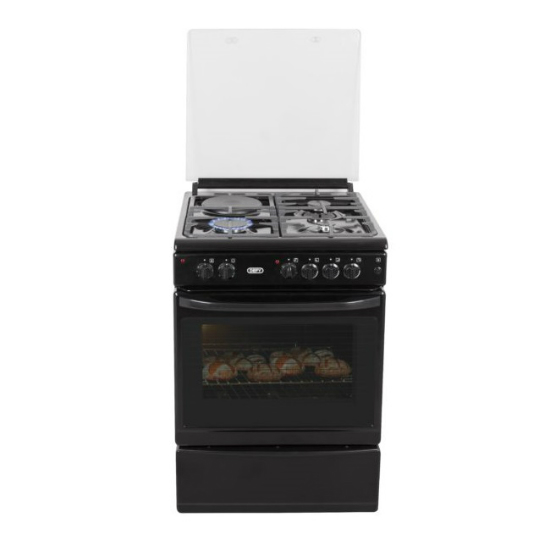 Defy 3 Burner 1 Plate Gas Electric Stove