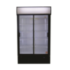 Fridge Star Es1140Sl 663Lt Slim Line Double Sliding Door Beverage Cooler