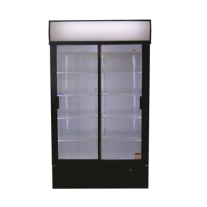 Fridge Star Es1140Sl 663Lt Slim Line Double Sliding Door Beverage Cooler