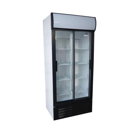 Fridge Star Es890 580Lt Double Sliding Door Beverage Cooler