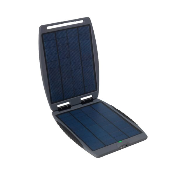 Power Traveller Solargorilla 21W Panel With 19V And 5V Usb Hard Clam Shell