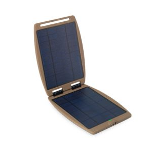 Power Traveller Solargorilla Tactical 21W Panel With 19V And 5V Usb Hard Clam Shell