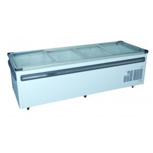 Fridge Star Vs2500 1055Lt Glass Top Island Freezer With Baskets
