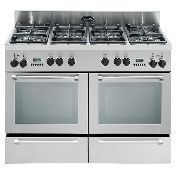Elba 1200mm 6 Gas Burner With 2 Electric & Electric Oven