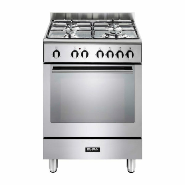 Elba 60cm Fusion 4 Gas Hobs With Electrictric Oven