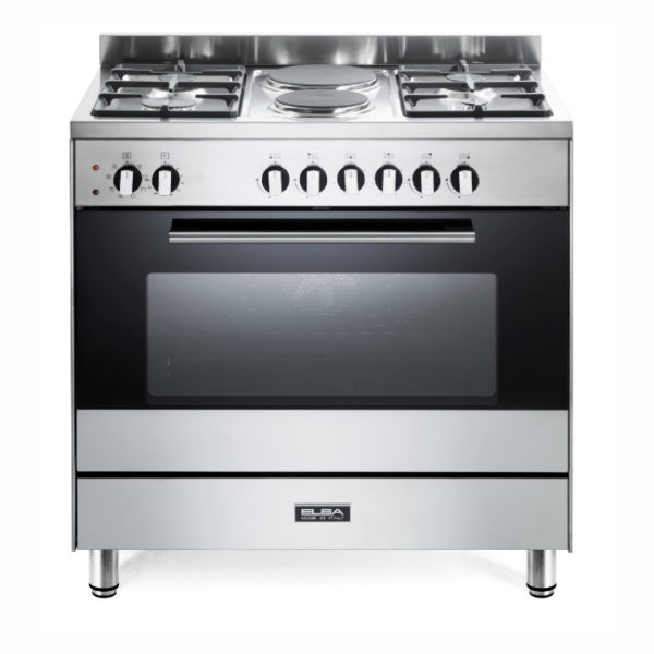Elba 80cmm 4 Gas Burner With 2 Electric & Electric Oven