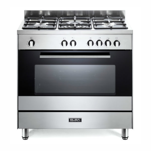 Elba 80cm 5 Gas Burner With  Gas Oven