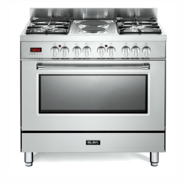 Elba 90cm 4 Gas Burners with 2 Electrictric & Electrictric Oven