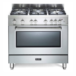 Elba 5 Gas Burners with Gas Oven