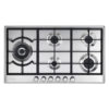 Elba Elio 90cm 5 Gas Burner Hob With Dual Burner