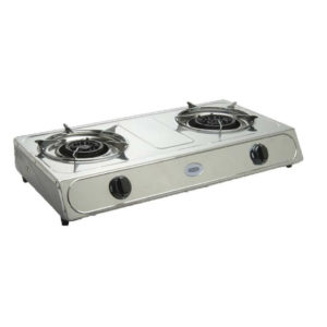 CADAC 2 PLATE STAINLESS STEEL STOVE
