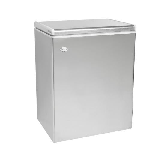 Zero Appliances 200 Litre Gas Only Galavnized Chest Freezer