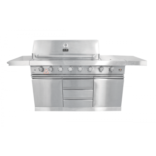 Alva THE BUSINESS 6Burner BBQ