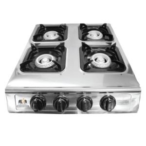 Alva 4Burner Stainless Steel Gas Stove