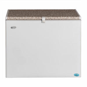 Zero Appliances 215 Litre Gas Electric White Chest Freezer