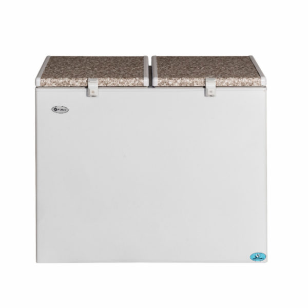 Zero Appliances 236 Litre Double Bin Gas Electric Fridge Freezer