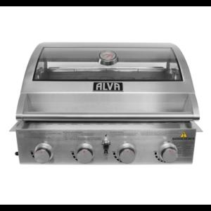 Alva MOJAVE 4Burner S/S Build-in BBQ