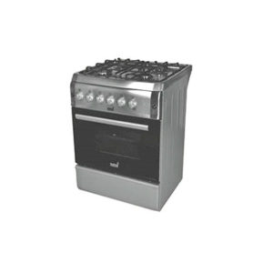 TOTAI 4 BURNER GAS + ELECTRIC OVEN STAINLESS STEEL