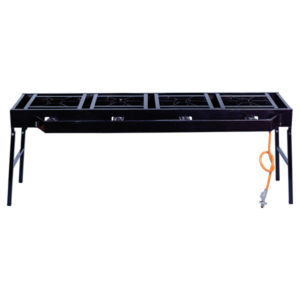 TOTAI 4 BURNER FOLDABLE CATERING TABLE