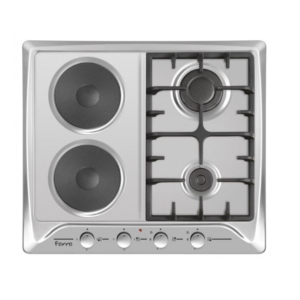 Ferre 2 Gas & 2 Electric Built In Hob With Ffd