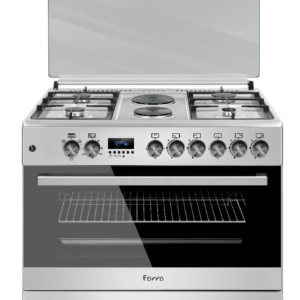 Ferre 4 Gas Burner Stove With 2 Electric Plates