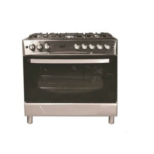TOTAI 5 BURNER GAS + ELECTRIC OVEN STAINLESS STEEL
