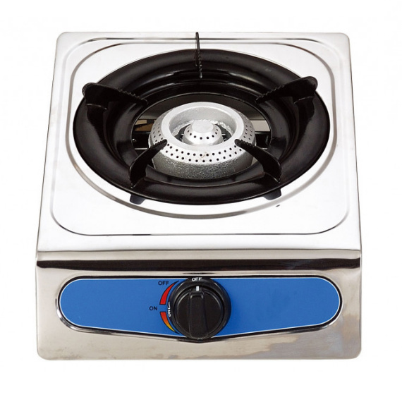 TOTAI  SINGLE BURNER GAS STOVE WITH AUTO IGNITION (STAINLESS STEEL)