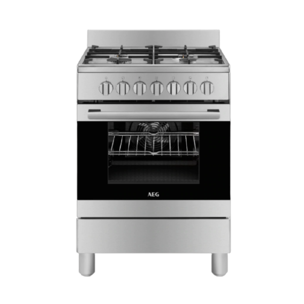 AEG 4 Burner 60cm Gas Stove With Electric Oven