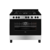 AEG Blackline 5 Burner 90cm Gas Stove With Electric Oven