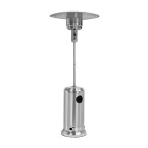 Alva Patio Gas Heater Split Pole Stainless Steel